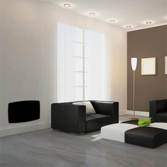 Vitro-i Designer Heater Black